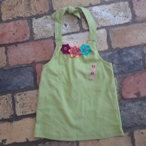 Gymboree NEW Summer Flower Halter Tank Top sz 8